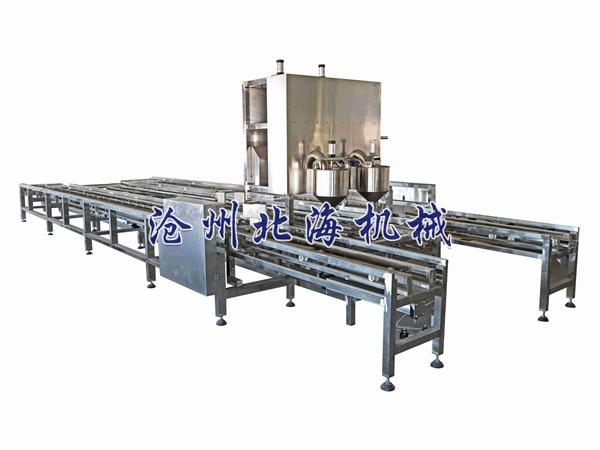 全自动冲浆嫩豆腐生产线