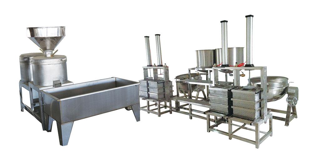 酸浆豆腐生产线